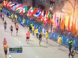 L'explosion au Marathon de Boston