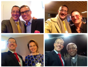 @RichardQuest Davos Selfies 2